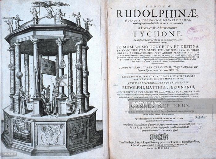 rudolphine tabula